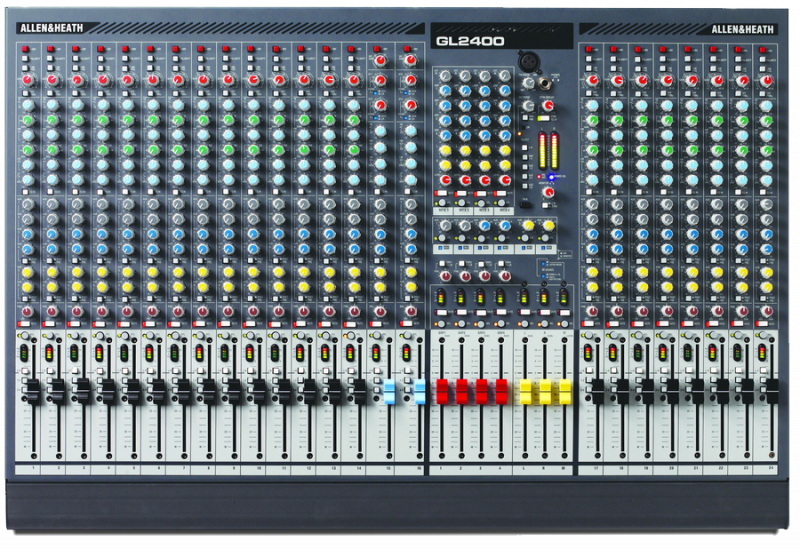 Микшерный пульт Allen & Heath GL2400 24 канала