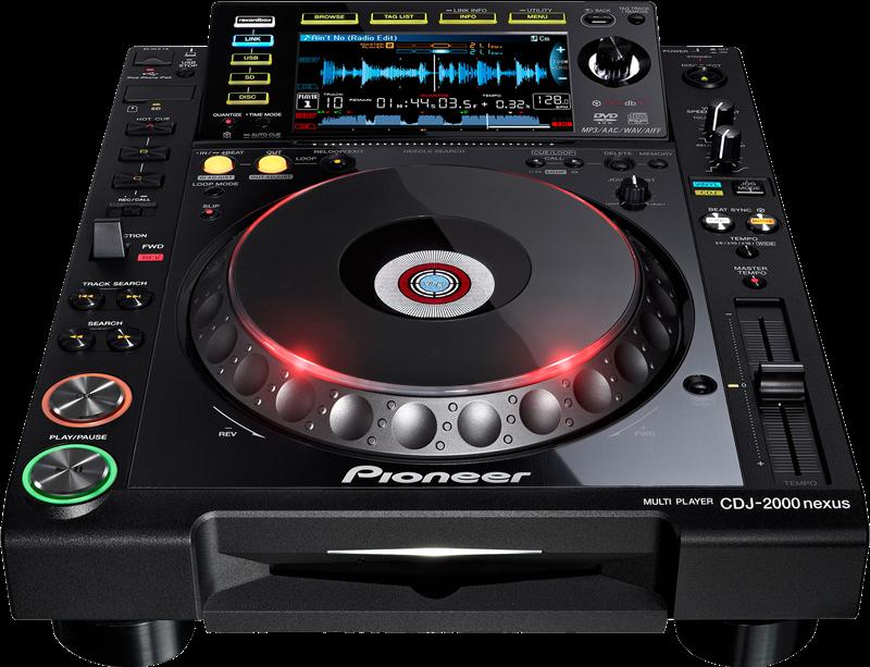 Диджейский проигрыватель Pioneer CDJ-2000 Nexus